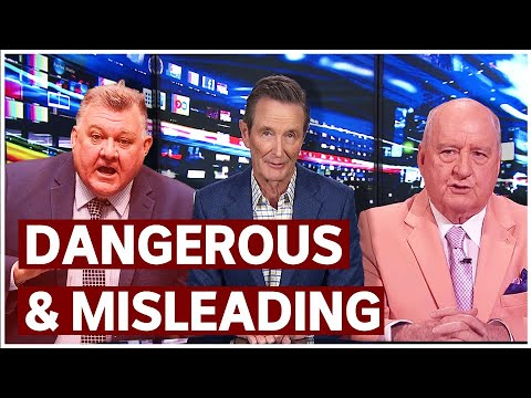 Misleading vaccine information broadcast on Sky News | Media Watch