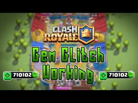 Clash Royale/Clash Of Clans GEM/XP GLITCH/HACK FREE GEMS *NEW* APRIL 2016 (WORKING)