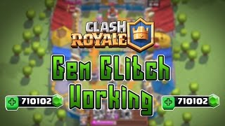 Clash Royale/Clash Of Clans GEM/XP GLITCH/HACK FREE GEMS *NEW* APRIL 2016 (WORKING)