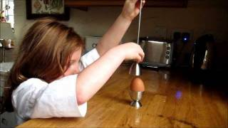 The Great 'Clack' Egg Cracker and Opener