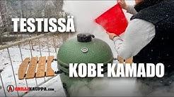 TESTISSÄ KOBE KAMADO -HIILIGRILLI