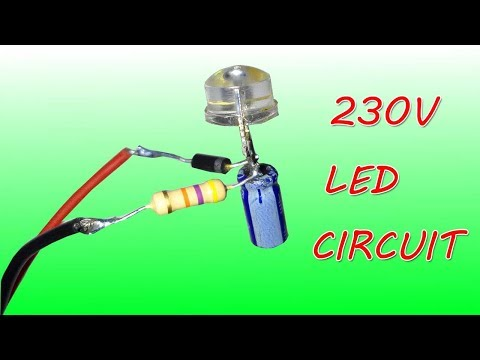 How To Connect LED Light To 230V AC
