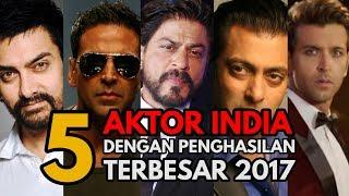 Hrithik Roshan, Shah Rukh Khan jadi Aktor India dengan Bayaran Termahal 2017