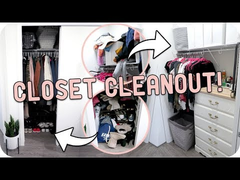 Cleaning Out My Closet! How I Declutter + Organize!