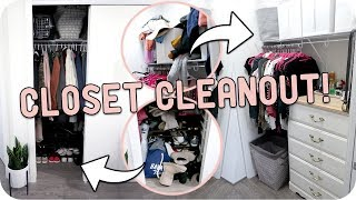 Video Cleaning Out My Closet! How I Declutter + Organize! download MP3, 3GP, MP4, WEBM, AVI, FLV November 2018