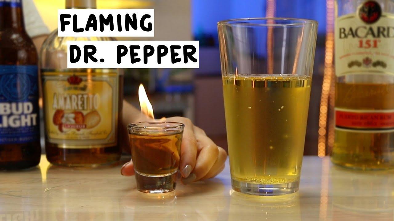 flaming dr pepper tipsy bartender