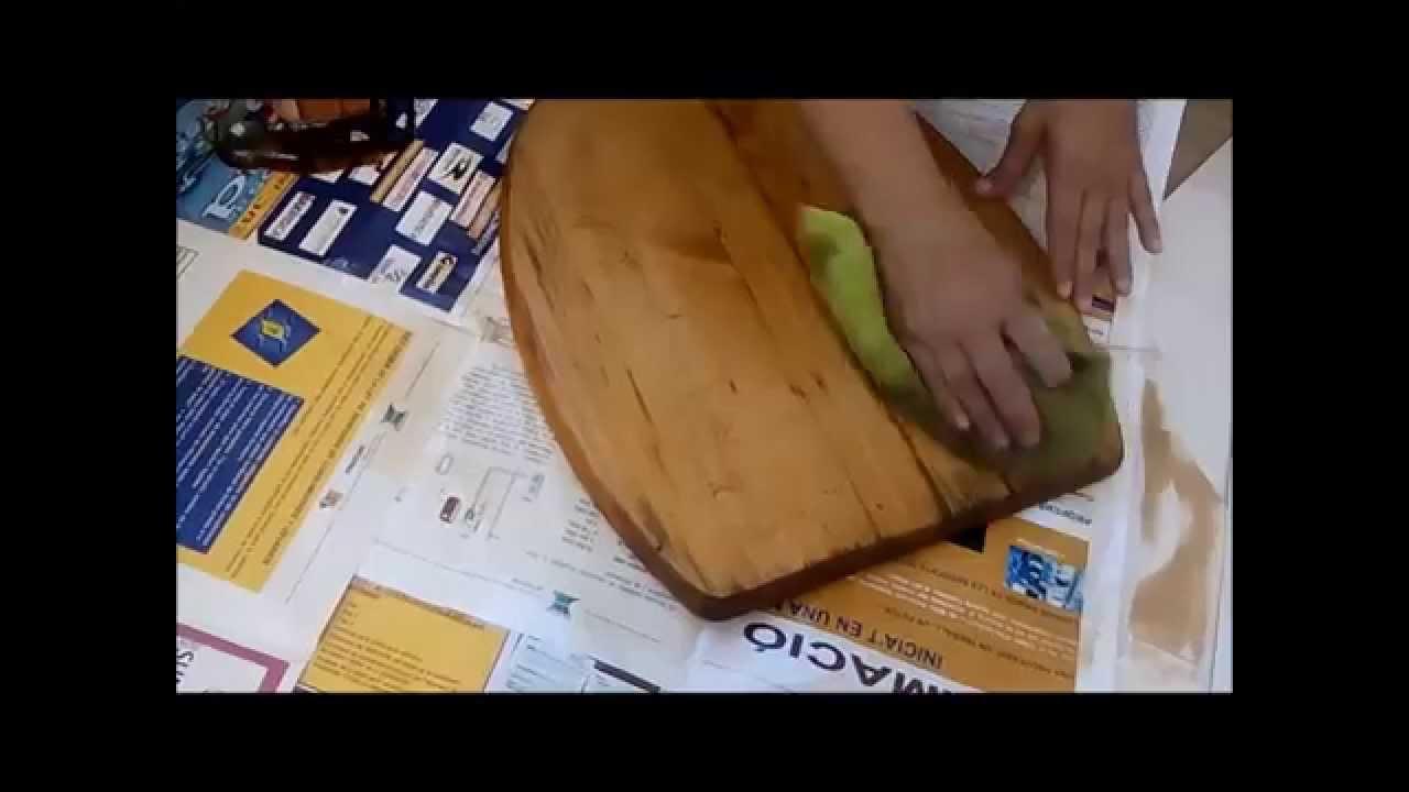 Restaurar tapa de inodoro youtube for Tapa inodoro madera