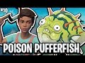 THE POISON PUFFERFISH!! - THE RAFT! #10