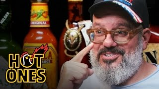 Download David Cross Embraces the Extremes of Spicy Wings | Hot Ones Mp3 and Videos