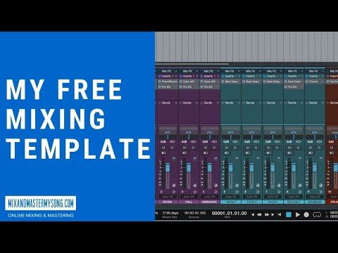 My Free Mixing Template