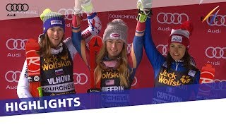 Shiffrin outduels Vlhova to win Courchevel PSL | Highlights