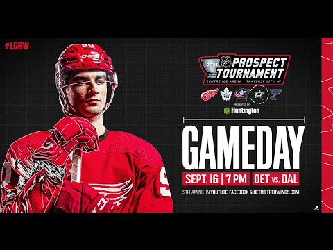 Download 2021 NHL Prospect Tournament - Detroit Red Wings vs. Dallas Stars