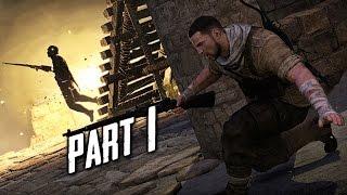 sniper elite 3 save churchill part 1 gameplay walkthrough part 1 in shadows ps4