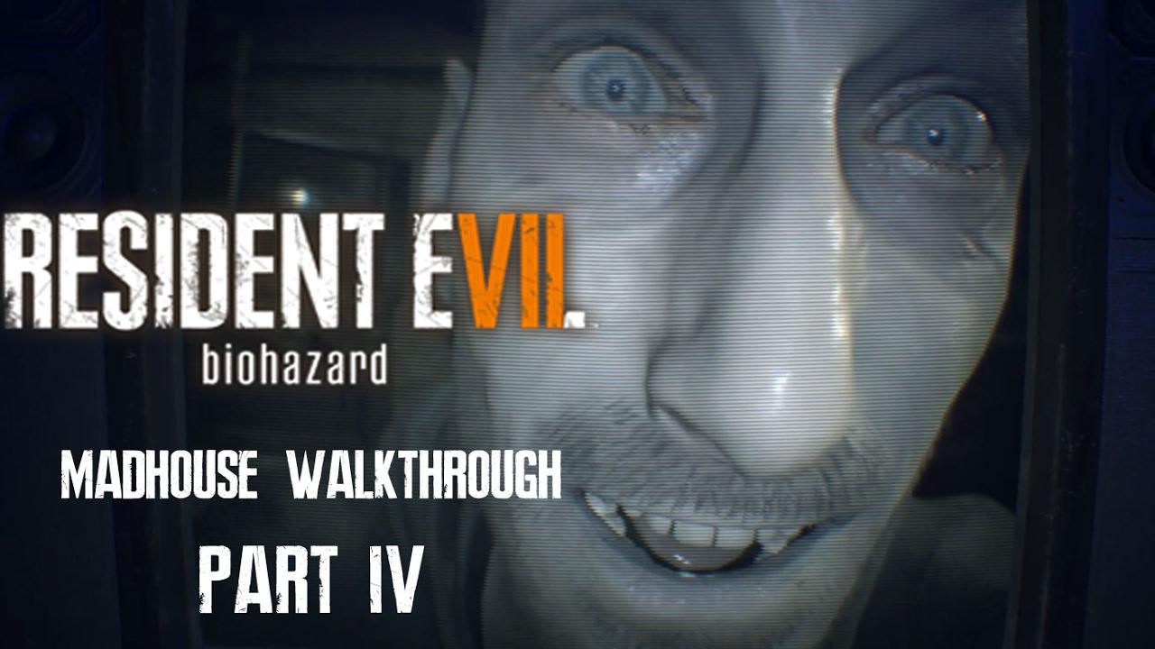 resident evil 7 marguerite boss fight madhouse