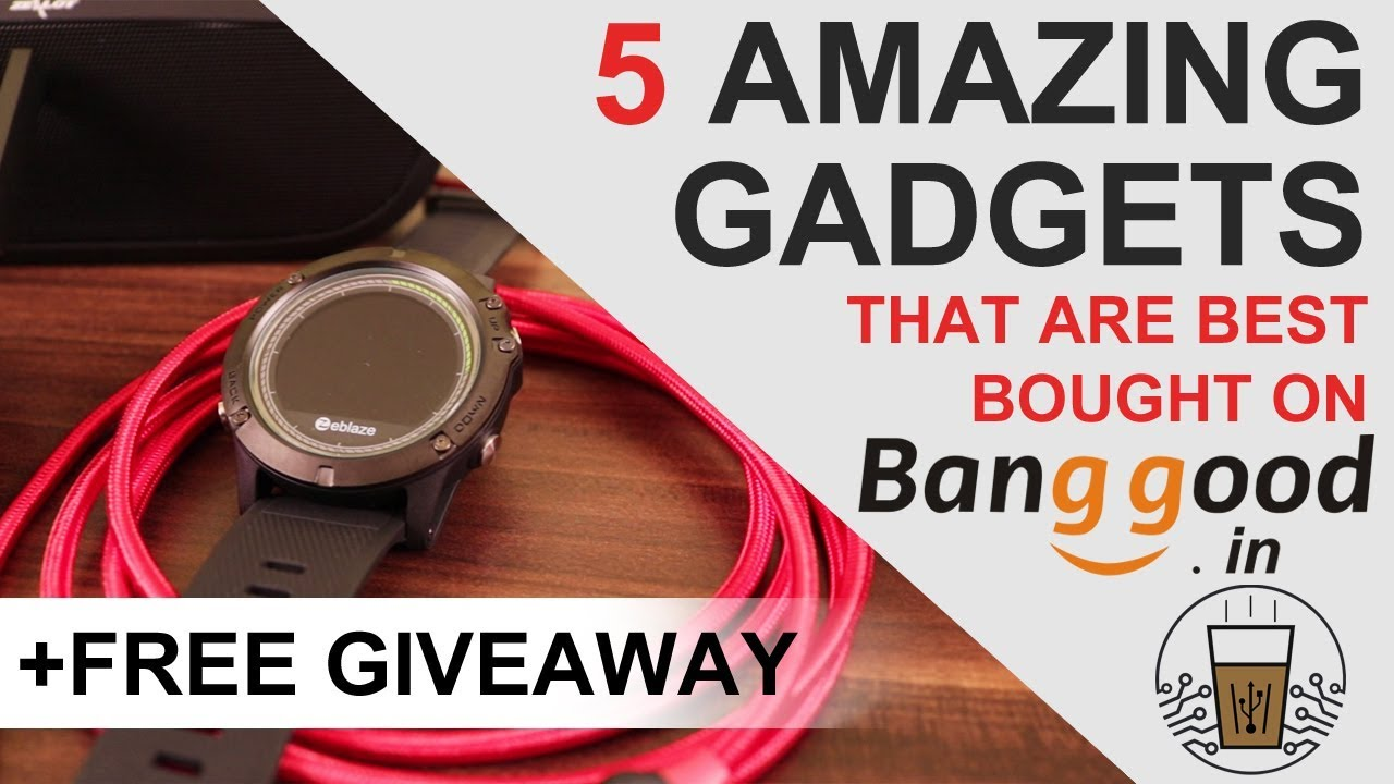 5 Cool Gadgets That Are Best Bought On Banggood India | Desi Bit