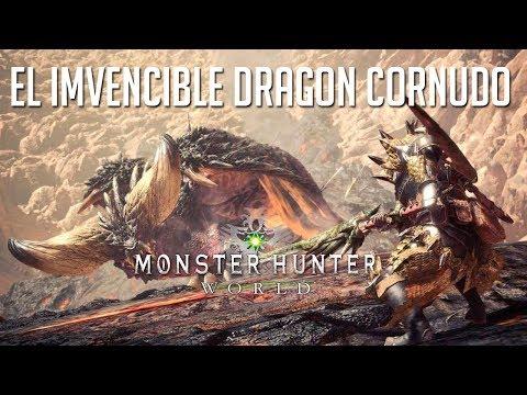 EL INVENCIBLE DRAGON CORNUDO | MONSTER HUNTER WORLD BETA 3