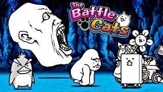 NAJDŁUŻSZA WALKA W HISTORII KOTÓW!   THE BATTLE CATS #admiros