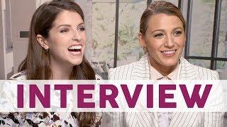 Peinliche Stille beim Interview mit Blake Lively & Anna Kendrick... | STARS