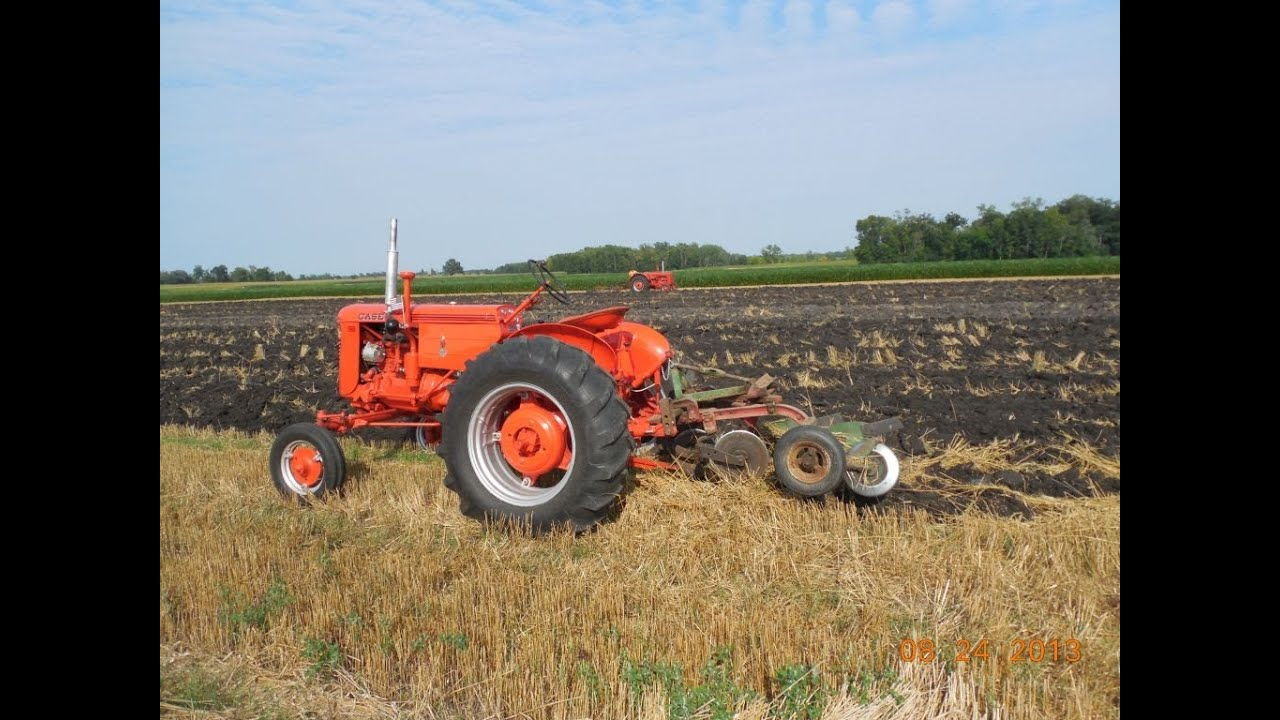 Case Vac Plowing : Case vac pulling a s mounted plow youtube