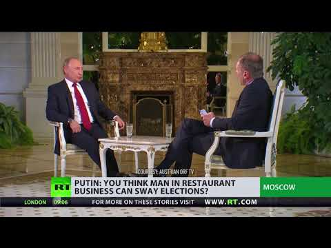 Putin: If we ask why Soros meddles, US say it's his private affair