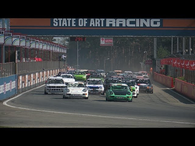 1000 km of Zolder Belcar Youngtimer Cup race 1 highlights