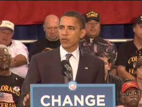 Barack Obama: Call to Service in Colorado Springs, CO
