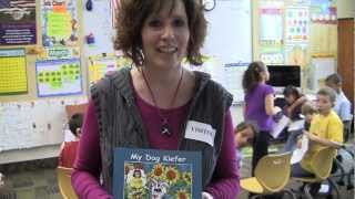 Deaf Dog From Story Book Visits Ri School For Deaf