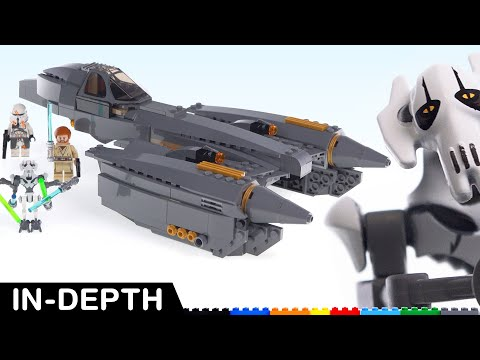 Good Design, Ludicrous Price -- LEGO Star Wars General Grievous's Starfighter Review! 75286