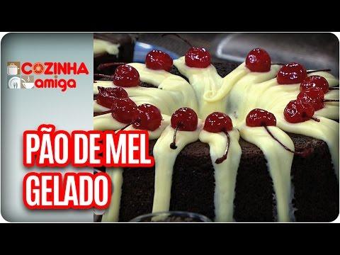 Pão De Mel Gelado - Chef Dalva Zanforlin | Cozinha Amiga (09/03/17)