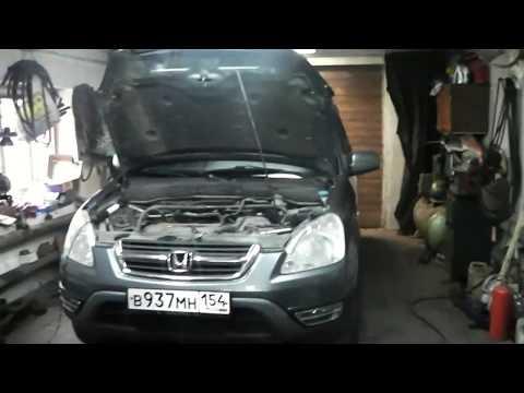 Honda CR-V 2005 год замена радиатора двс