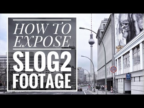 How to Expose S-LOG2 footage on your Sony Alpha Camera | 4K