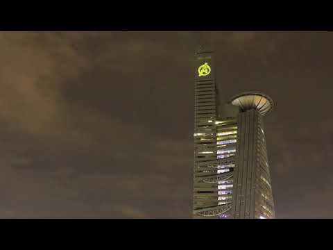 Stark Tower taken over TM Tower in KL