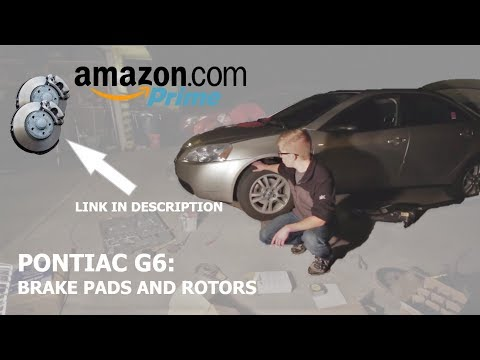 How to Replace Brake Pads and Rotors Pontiac G6 DIY