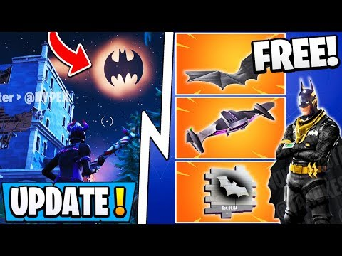 *NEW* Fortnite X Batman Update! | All Free Rewards, Gotham City, Skins!