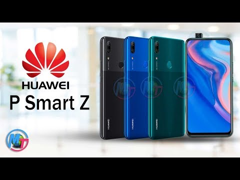 Huawei P Smart Z - Official Look, Price And Specs!!!