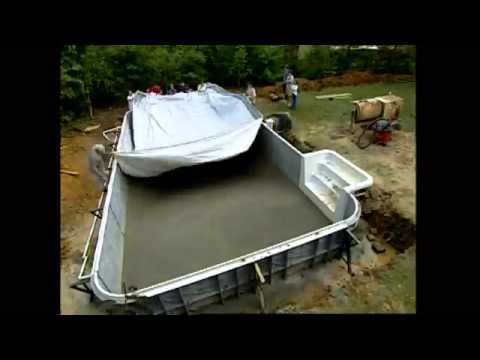 Reparer Un Liner De Piscine Of Comment Poser Un Liner De Piscine Youtube