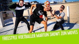 Freestyle voetballer Martijn Debbaut showt zijn moves | Vincent Fierens
