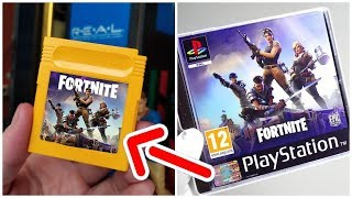 THE SECRET VERSIONS OF FORTNITE (PS1, Game Boy, Atari et Mega Drive)