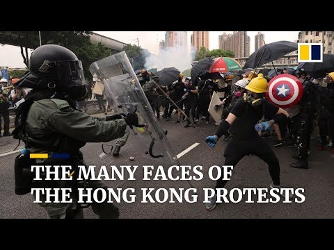 The many faces of the Hong Kong protests