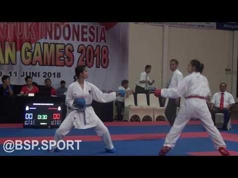 SELEKSI AKHIR ASIAN GAMES -KARATE 2018