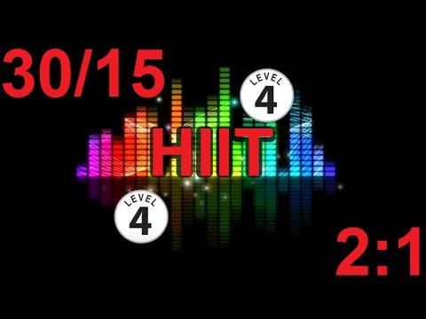 HIIT Music Track – Level 4 – 3015, 20mins – PLUS VOICE PROMPTS