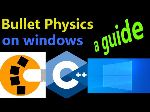 Run Bullet Physics Demos And Tests On Windows | Bullet3 | Collision | Game Dev | C++