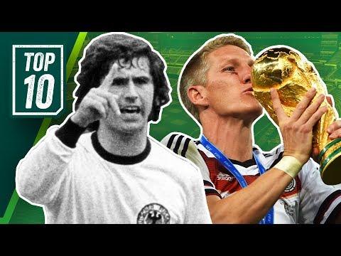 Die besten deutschen Fußballer aller Zeiten! Top 10 Spieler der Fußballgeschichte Deutschlands!
