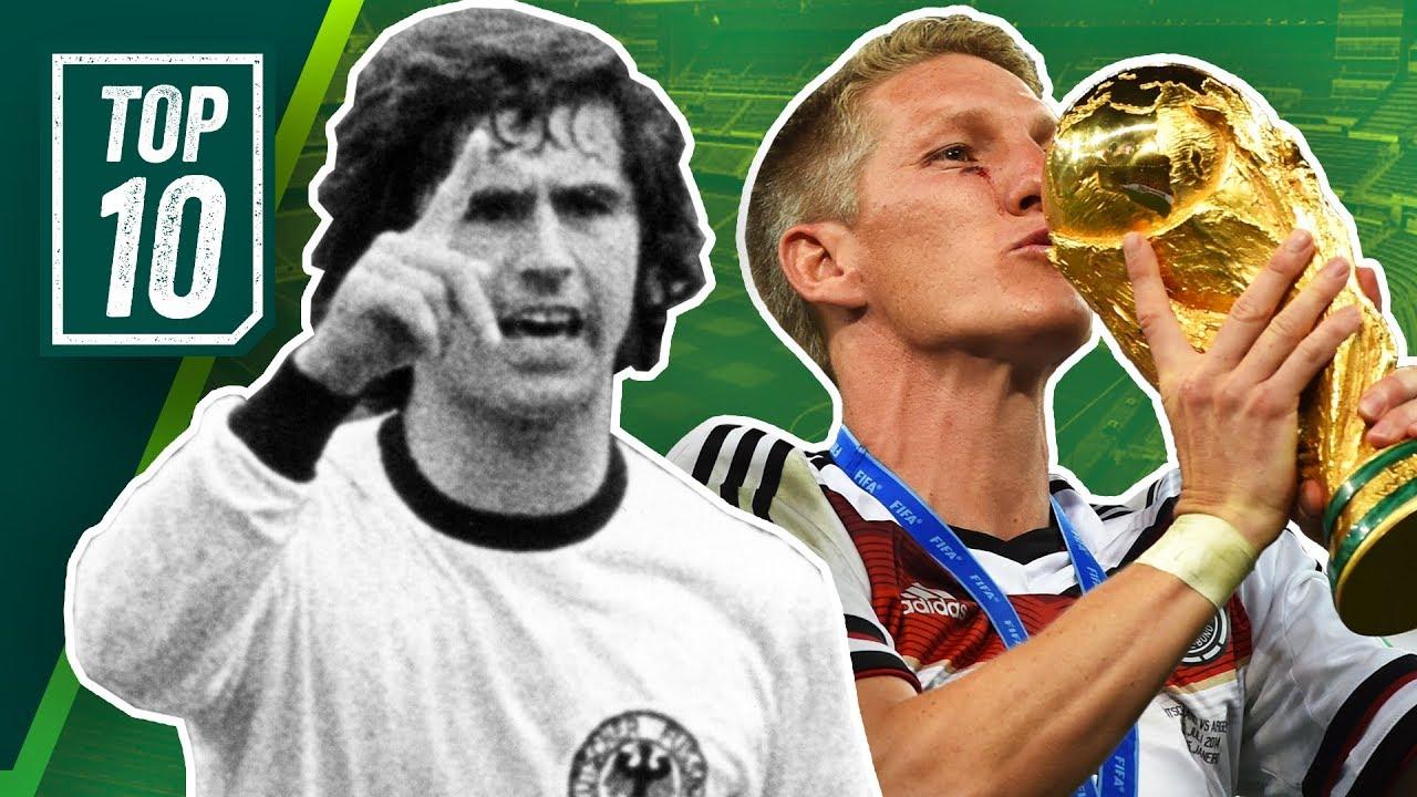 Die Besten Deutschen Fussballer Aller Zeiten Top 10 Spieler Der Fussballgeschichte Deutschlands
