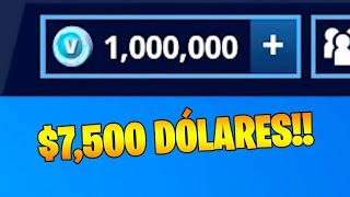 This PLAYER BUYS 1,000,000 PAVOS or V BUCKS!! at FORTNITE 💲😱