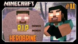 Minecraft: Matando HEROBRINE! #11 HEROBRINE MORREU!!