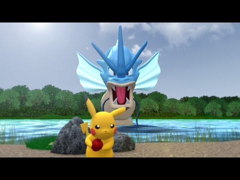 Pokemon 3D Animation