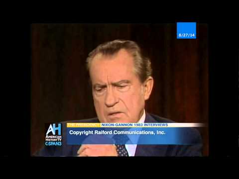 The Presidency: Nixon-Gannon 1983 Interviews - preview