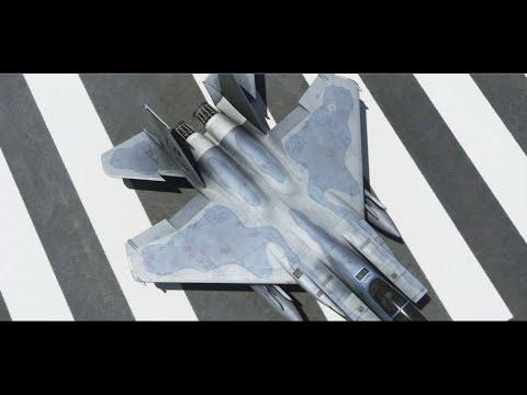 Flight Simulator VR - Multiplayer Etna, Sicilia (F-15D)
