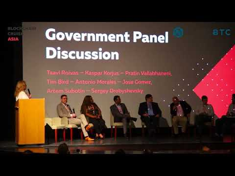 "Blockchain Cruise Asia ""Government Panel Discussion"" (Cryptocurrency)"